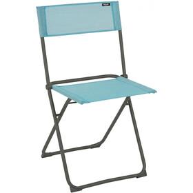 Lafuma Mobilier Balcony Chaise avec Cannage Phifertex, titane/lac